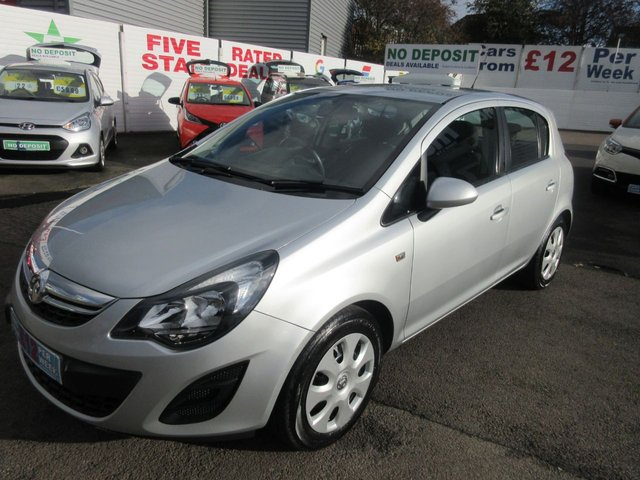 USED 2014 14 VAUXHALL CORSA 1.2 DESIGN AC 5d 83 BHP **CLICK AND COLLECT ON YOUR NEXT CAR**