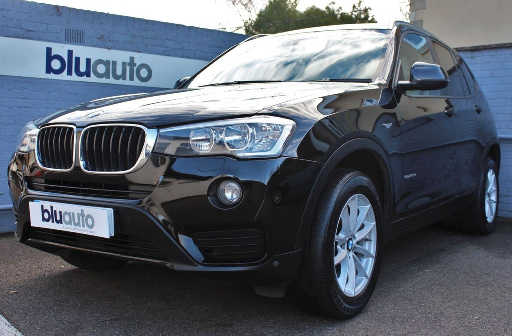 USED 2014 14 BMW X3 2.0 SDRIVE18D SE 5d 148 BHP 2 Owners, Full BMW Service History, Cream Leather, Heated Seats, Parking Sensors.............