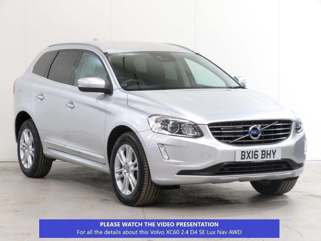 USED 2016 16 VOLVO XC60 2.4 D4 SE Lux Nav AWD (s/s) 5dr £5,150 EXTRA*ADAPT-CRUISE+MORE