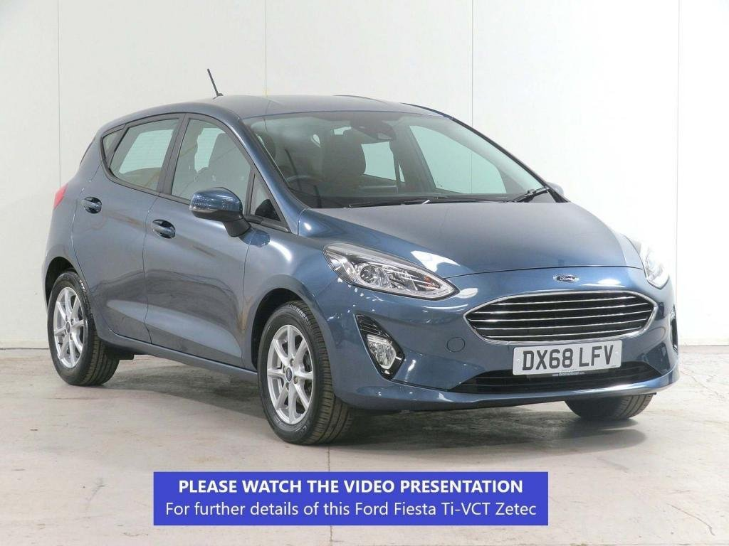 USED 2018 68 FORD FIESTA 1.1 Ti-VCT Zetec (s/s) 5dr NAV*FULL-HISTORY*JUST-SERVICED