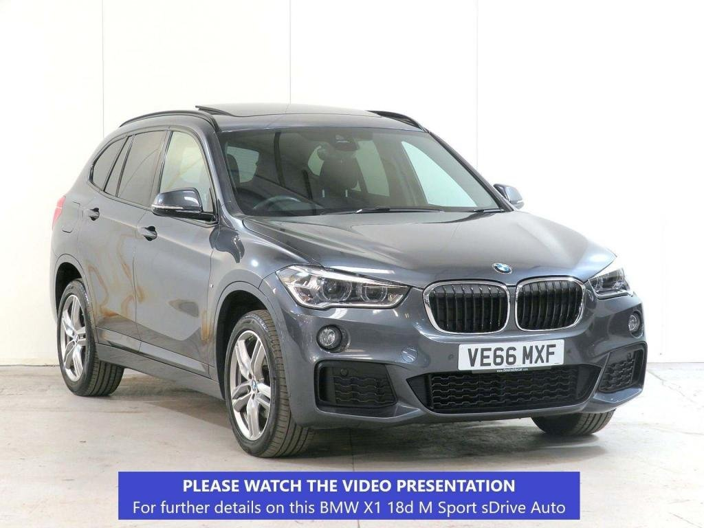USED 2017 66 BMW X1 2.0 18d M Sport Auto sDrive (s/s) 5dr £8,340 EXTRA*PANROOF**MUST-SEE