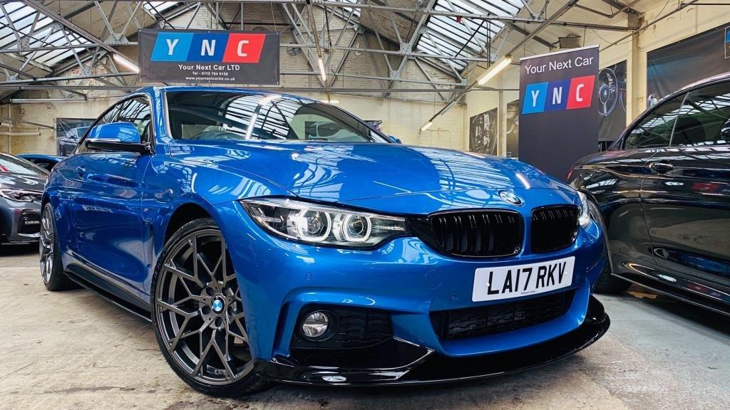 USED 2017 17 BMW 4 SERIES 3.0 430d M Sport 2dr PERFORMANCEKIT+20S+FACELIFT