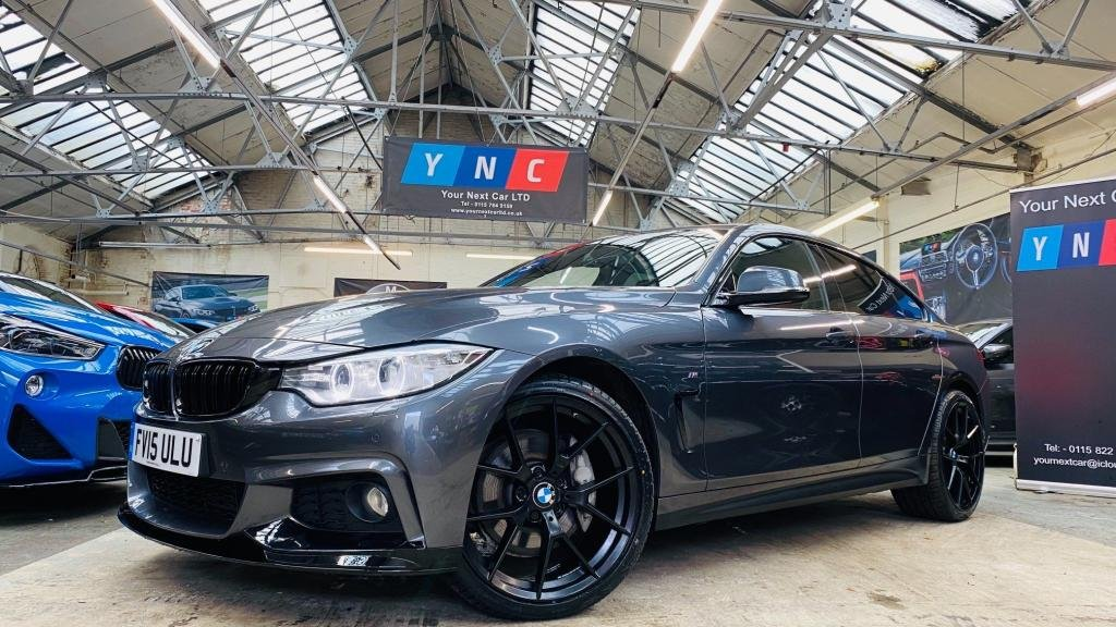 USED 2015 15 BMW 4 SERIES 3.0 435d M Sport Gran Coupe xDrive 5dr PERFORMANCEKIT+20S+XENONS
