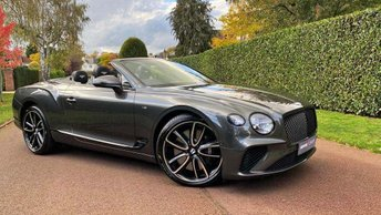 2020 BENTLEY CONTINENTAL 4.0 V8 GTC Auto 4WD (s/s) 2dr £192000.00
