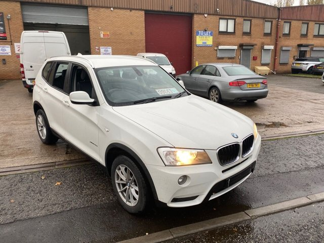 2012 12 BMW X3 2.0 XDRIVE20D SE 5d 181 BHP SAT NAV FULL LEATHERS HEATED SEATS FULL BMW SERVICE HISTORY  SOLD TO MARIE LEWIS FROM EAST YORKSHIRE