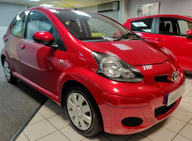 USED 2011 11 TOYOTA AYGO 1.0 VVT-I ICE MM 5d 68 BHP