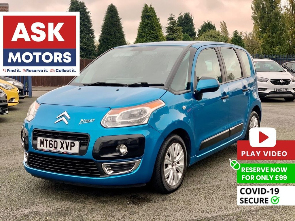 USED 2011 60 CITROEN C3 PICASSO 1.6 PICASSO VTR PLUS HDI  5d 90 BHP
