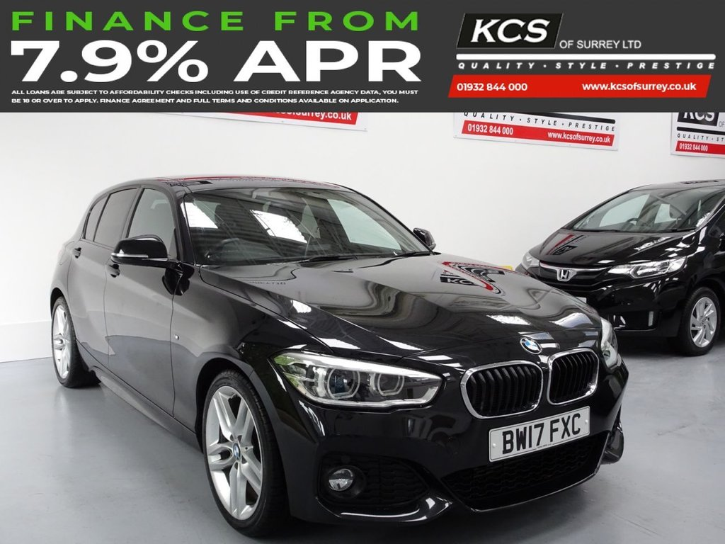 USED 2017 17 BMW 1 SERIES 2.0 118D M SPORT 5d 147 BHP SAT NAV - BLUETOOTH - DAB