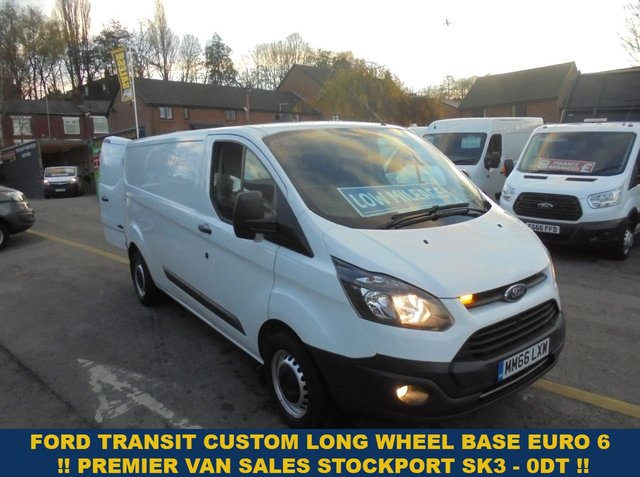 USED 2017 66 FORD TRANSIT CUSTOM 2.0 340  EURO 6 MODEL  FULL WORK SHOP FITTED IN REAR  LONG WHEEL BASE  LOW MILES  49,000  TURBO DIESEL  2017 YEAR   2017 YEAR LOW MILES   FULL WORK SHOP FITTED IN REAR EURO 6 MODEL