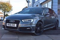 USED 2015 15 AUDI A3 2.0 TDI S LINE 5d 148 BHP FINANCE FROM £249 PER MONTH £0 DEPOSIT