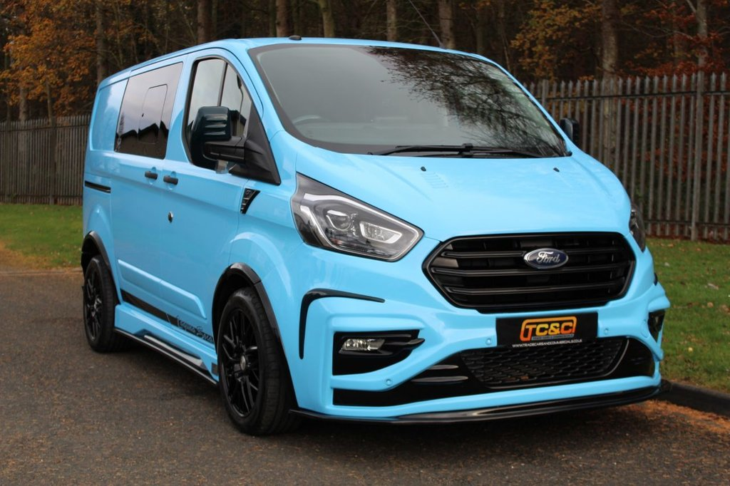 USED 2019 69 FORD TRANSIT CUSTOM 2.0 300 GT LAGUNA SECA LIMITED EDITION DCIV L1 H1 168 BHP AN EXCLUSIVE HIGH SPECIFICATION MODEL WITH ONLY 50 MADE AND THIS BEING NO.50!!!