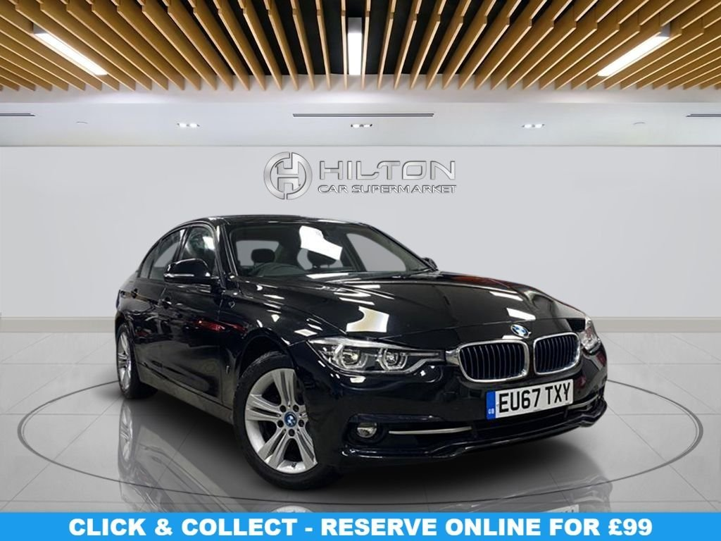 USED 2017 67 BMW 3 SERIES 2.0 330E SPORT 4d 181 BHP Alloys, Sport Package, Navigation System, Parking Sensors, Climate Control
