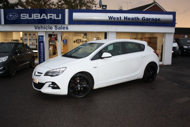 2014 14 VAUXHALL ASTRA 1.6 LIMITED EDITION 5d 115 BHP