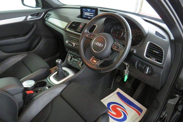 USED 2015 15 AUDI Q3 2.0 TDI S LINE 5d 148 BHP