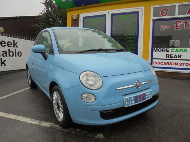 USED 2011 60 FIAT 500 0.9 POP 3d 85 BHP CLICK AND COLLECT ON YOUR NEXT CAR