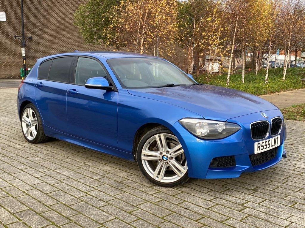 USED 2013 R BMW 1 SERIES 2.0 118D M SPORT 5d 141 BHP
