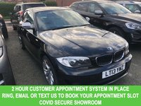 USED 2013 13 BMW 1 SERIES 120I EXCLUSIVE EDITION 2dr Petrol Coupe Manual