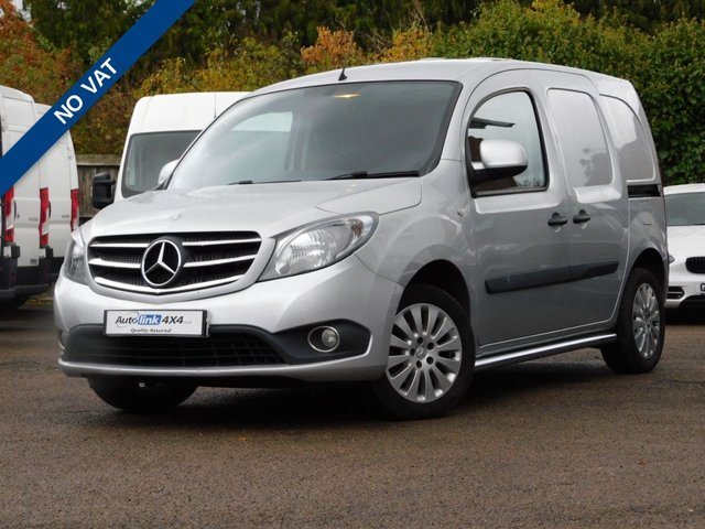 USED 2015 65 MERCEDES-BENZ CITAN 1.5 111 CDI SPORT 110 BHP Twin Side Doors+Aircon+Alloys