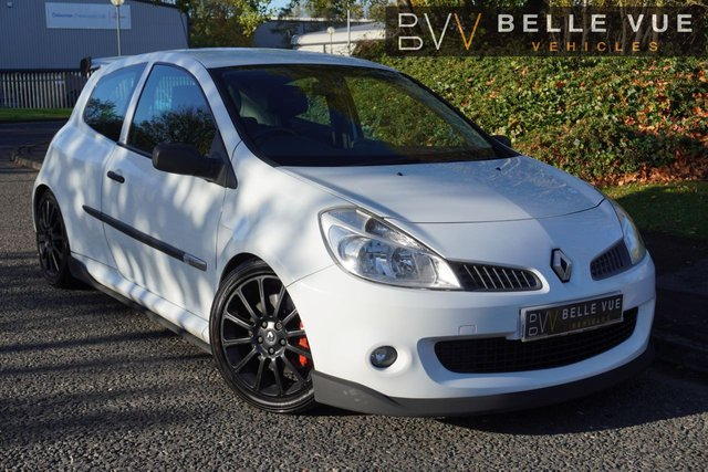 USED 2008 08 RENAULT CLIO 2.0 RENAULTSPORT 197 CUP VVT 3d 195 BHP *CUP EDITION! SPOILER, STUNNING ALLOYS*