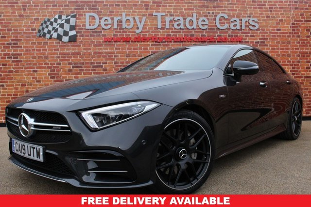 MERCEDES-BENZ CLS CLASS at Derby Trade Cars