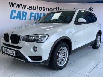2014 BMW X3 2.0 SDRIVE18D SE 5d 148 BHP £13000.00