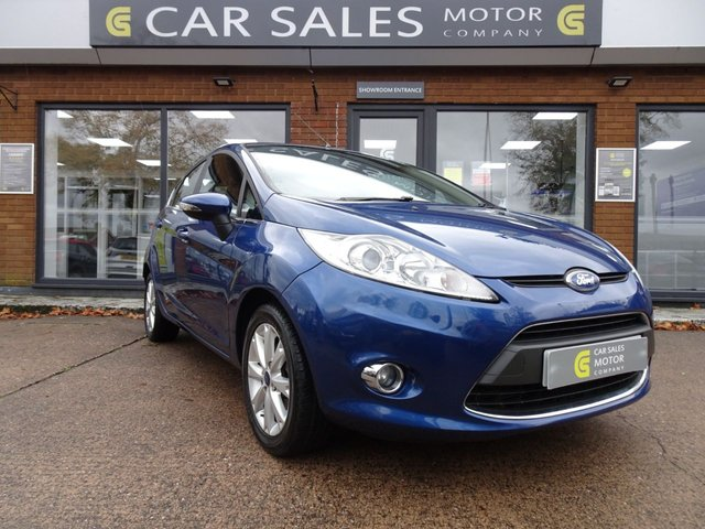USED 2008 58 FORD FIESTA 1.4 ZETEC 16V 5d 96 BHP LOW MILEAGE ONLY 27K, JUST SERVICED, BLUETOOTH, VOICE COMMAND, ALLOYS, MOT TILL NOVEMBER 2021 WITH NO ADVISORIES, HPI CLEAR, 2 KEYS