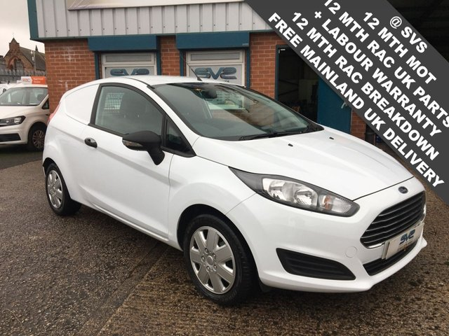 USED 2016 66 FORD FIESTA 1.5 BASE TDCI 75 BHP 61K MILES LOVELY CLEAN ECONOMICAL VAN *FSH*