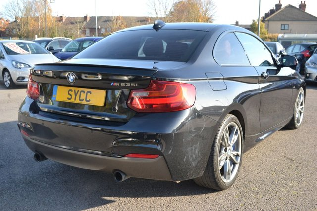 USED 2015 65 BMW M235I 3.0 M235I 2d 322 BHP ~ HEATED RED LEATHER HEATED RED LEATHER ~ FRONT AND REAR PARK SENSORS ~ 2 KEYS