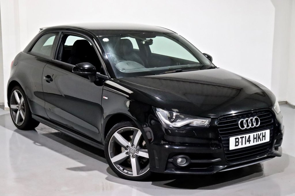 USED 2014 14 AUDI A1 1.6 TDI S LINE STYLE EDITION 3d 103 BHP