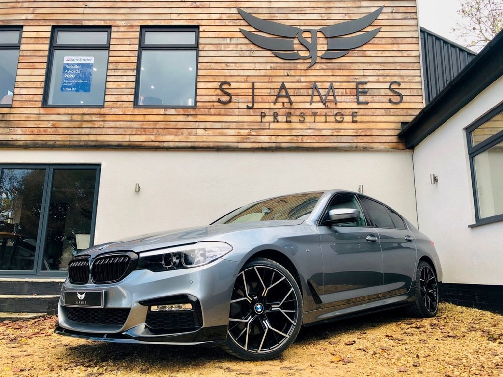 USED 2017 17 BMW 5 SERIES 2.0 530E M SPORT 4d AUTO 249 BHP SALOON
