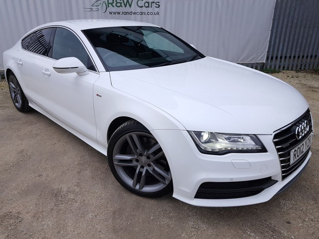 USED 2012 12 AUDI A7 3.0 TDI QUATTRO S LINE 5d 245 BHP **LIVE VIDEO WALK AROUND AVAILABLE**