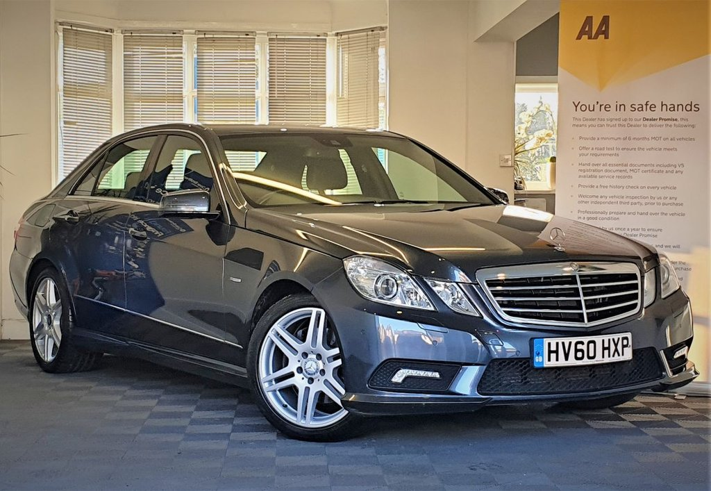 USED 2010 60 MERCEDES-BENZ E-CLASS 3.0 E350 CDI BLUEEFFICIENCY SPORT 4d 231 BHP