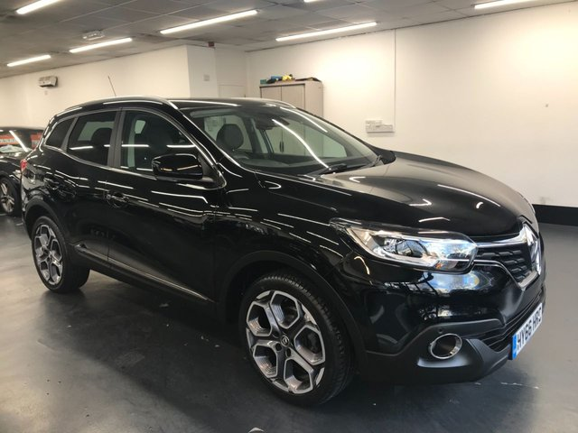 USED 2016 66 RENAULT KADJAR 1.2 DYNAMIQUE S NAV TCE 5d 130 BHP 1 OWNER FROM NEW WITH FULL SERVICE HISTORY, TOUCHSCREEN SATNAV, FRONT AND REAR PARKING SENSORS