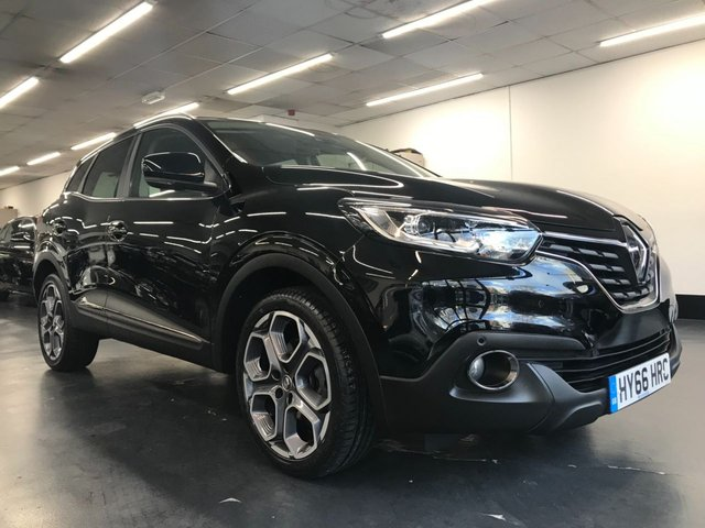 USED 2016 66 RENAULT KADJAR 1.2 DYNAMIQUE S NAV TCE 5d 130 BHP 1 owner from new with full service history, touchscreen navigation, front and rear parking sensors
