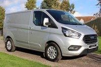 USED 2019 19 FORD TRANSIT CUSTOM 2.0 280 LIMITED P/V L1 H1 129 BHP Limited 2019 35k Manufacture Warranty 31/03/2022