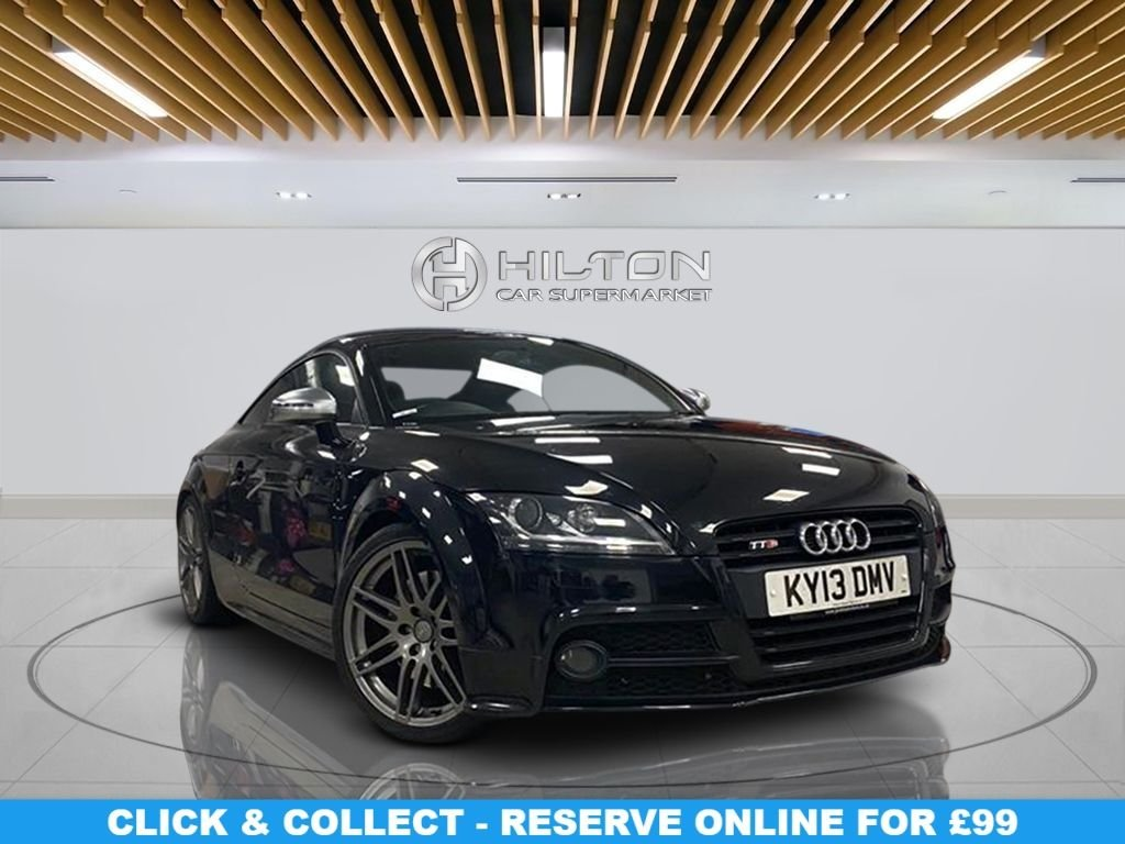 USED 2013 13 AUDI TT 2.0 TTS TFSI QUATTRO BLACK EDITION 2d 268 BHP 19-inch Alloy Wheels, Satellite Navigation, Leather Upholstery, Climate Control, Parking Sensor(s)