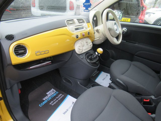 USED 2013 63 FIAT 500 1.2 COLOUR THERAPY 3d 69 BHP ** 1 OWNER FROM BRAND NEW *