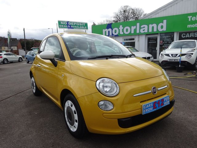 USED 2013 63 FIAT 500 1.2 COLOUR THERAPY 3d 69 BHP ** 01543 877320  ** JUST ARRIVED ** TEST DRIVE TODAY