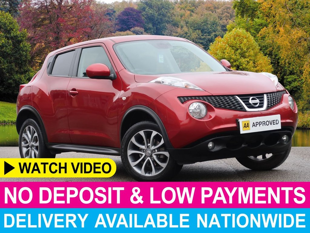 USED 2014 14 NISSAN JUKE 1.6 Tekna 5dr Sat Nav Leather Seats Sat Nav Leather Seats Air Con