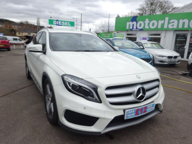 USED 2014 64 MERCEDES-BENZ GLA-CLASS 2.1 GLA200 CDI AMG LINE PREMIUM 5d 136 BHP CLICK AND COLLECT ON YOUR NEXT CAR