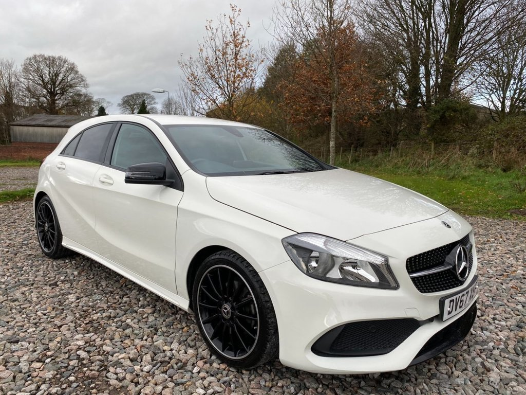 USED 2017 67 MERCEDES-BENZ A-CLASS 1.6 A 160 AMG LINE 5d 102 BHP