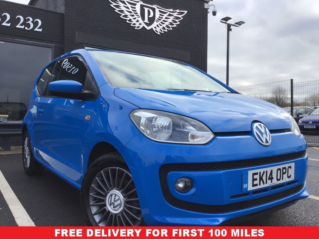 USED 2014 14 VOLKSWAGEN UP 1.0 HIGH UP 3d 74 BHP New arrival reserve now