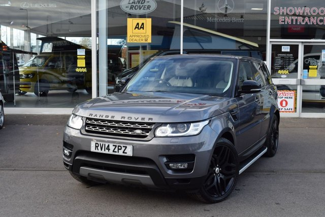 USED 2014 14 LAND ROVER RANGE ROVER SPORT 3.0 TDV6 SE 5d 258 BHP FINANCE TODAY WITH NO DEPOSIT - SERVICE HISTORY