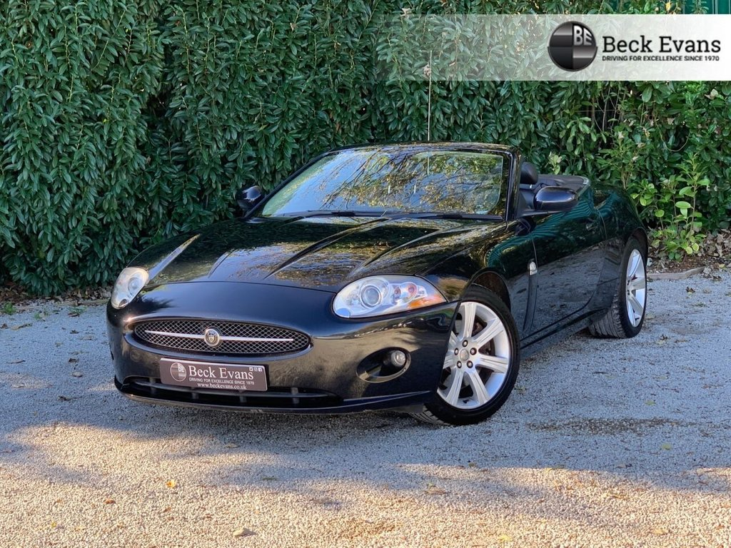 USED 2007 07 JAGUAR XK 4.2 CONVERTIBLE 2d 294 BHP
