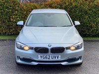 USED 2012 62 BMW 3 SERIES 2.0 318D LUXURY 4d 141 BHP *FULL LEATHER HEATED SEATS*