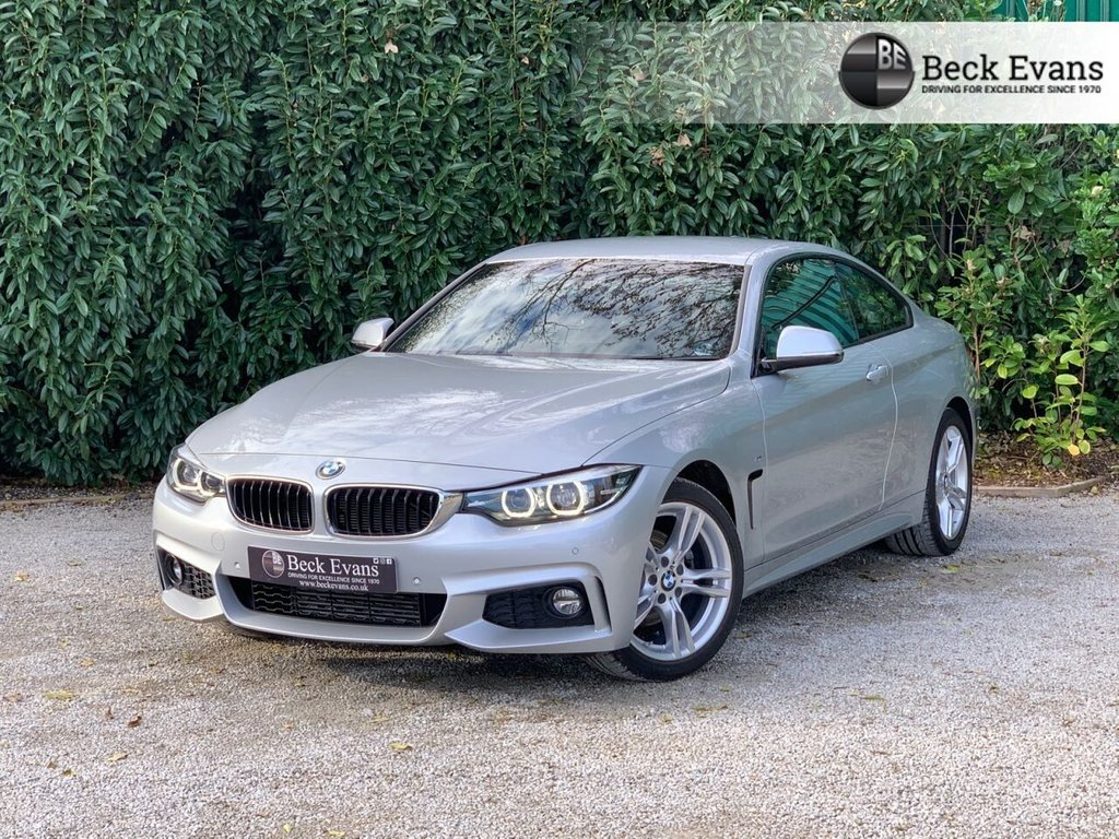 USED 2018 18 BMW 4 SERIES 2.0 420D M SPORT 2d 188 BHP