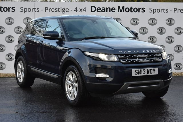 2013 13 LAND ROVER RANGE ROVER EVOQUE 2.2 SD4 PURE 5d 190 BHP PANROOF