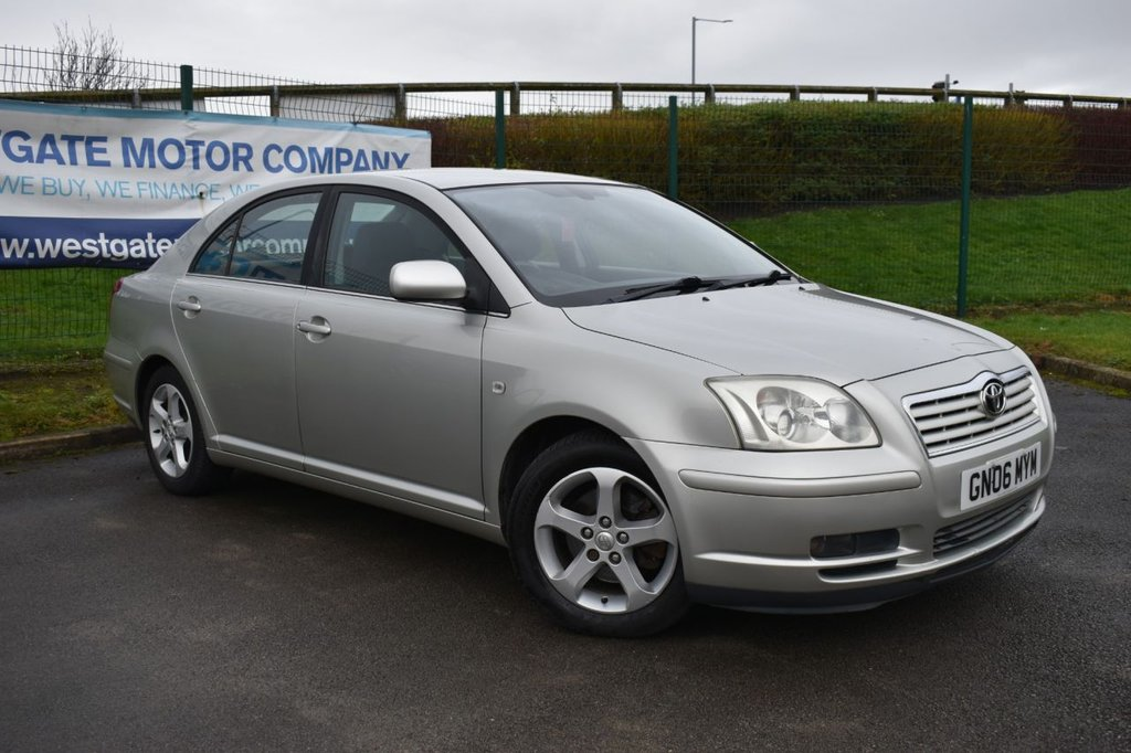 USED 2006 06 TOYOTA AVENSIS 2.2 T4 D-4D 5d 148 BHP