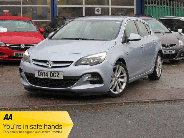 USED 2014 14 VAUXHALL ASTRA 1.6 TECH LINE GT 5d 115 BHP