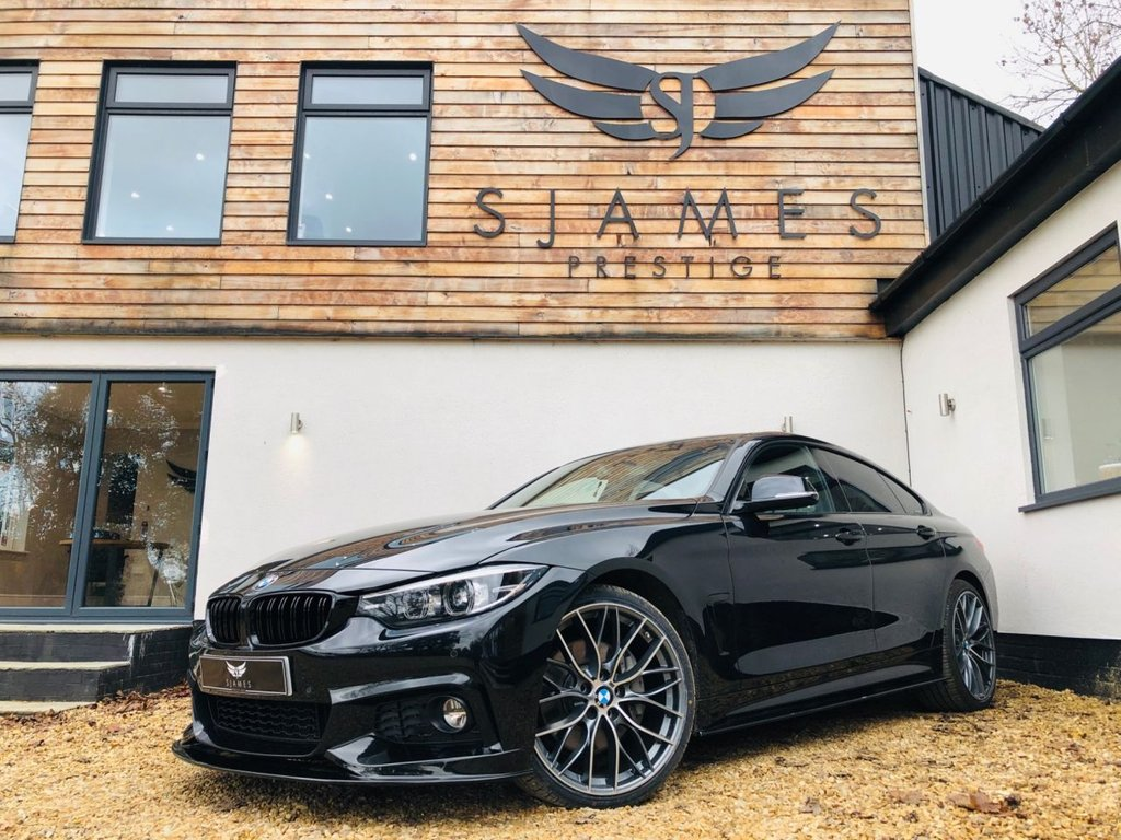 USED 2018 68 BMW 4 SERIES 3.0 440I M SPORT GRAN COUPE 4d AUTO 322 BHP